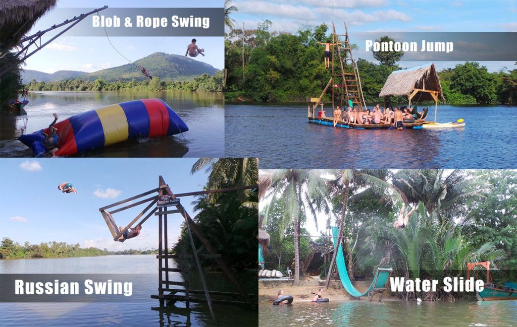 The photo of the 4 thrilled activities in Acardia water park. Source is from TripAdvisor's users.